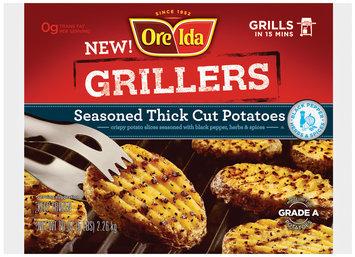 Ore-Ida® Grillers Seasoned Thick Cut Potatoes 80 oz Bag