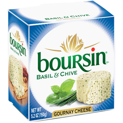 Boursin® Basil & Chive Gournay Cheese 5.2 oz. Box