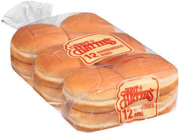 Aunt Hattie's® Enriched Hamburger Buns 12 ct Bag