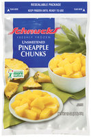 Schnucks Unsweetened Freshly Frozen Pineapple Chunks 16 Oz Bag