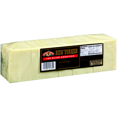 New Yorker® 160 Slice American Cheese 5 lb. Pack
