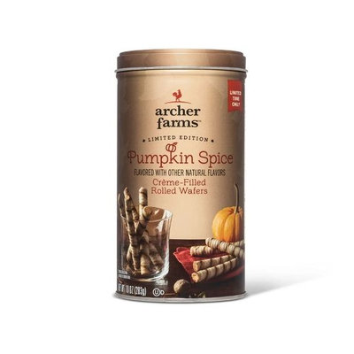 archer farms™ Pumpkin Spice Creme-Filled Rolled Wafers