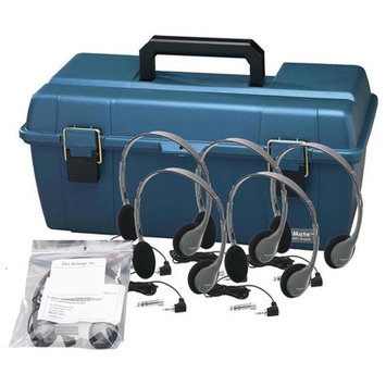 Hamilton Electronics Hamilton Buhl 12 HA2 Personal Headphones Lab Pack with Carry Case