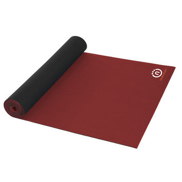 Natural Fitness Natural Rubber Professional Yoga Mat - Brick/Night