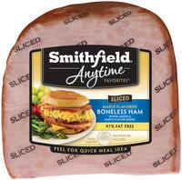 Smithfield® Anytime Favorites™ Maple Flavored Boneless Sliced Ham
