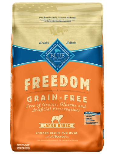 THE BLUE BUFFALO CO. BLUE™ Freedom® Grain-Free Chicken Recipe For Large Breed Adult Dogs