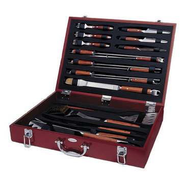 Berghoff International 24 Pc. Barbecue Set in Wood Case