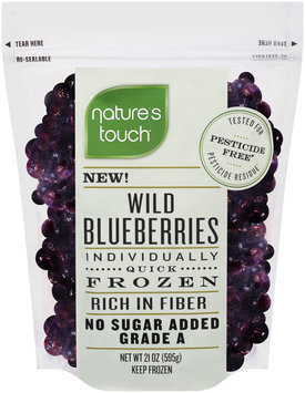 Nature's Touch™ Individually Quick Frozen Wild Blueberries 21 oz. Bag
