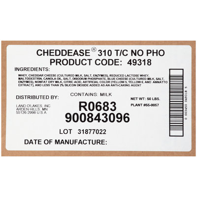 Land O' Lakes® Cheddease 310 T/C Powder