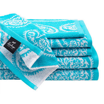 Jla Home Echo Design Madira 6-Piece Cotton Jacquard Towel Set
