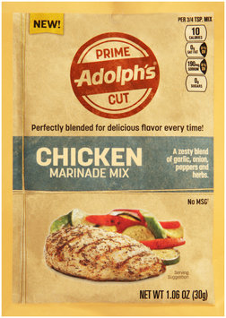 Adolph's® Prime Cut Chicken Marinade Mix 1.06 oz.