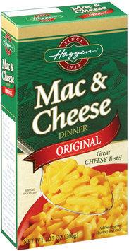 Haggen Original Macaroni & Cheese Dinner 7.25 Oz Box