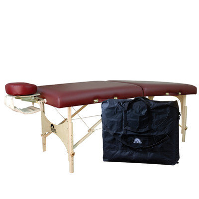 Oakworks 30 One Massage Table Package - Color: Clay