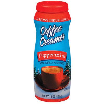 Your Brand Season's Indulgence Peppermint Coffee Creamer 15 Oz Plastic Jar