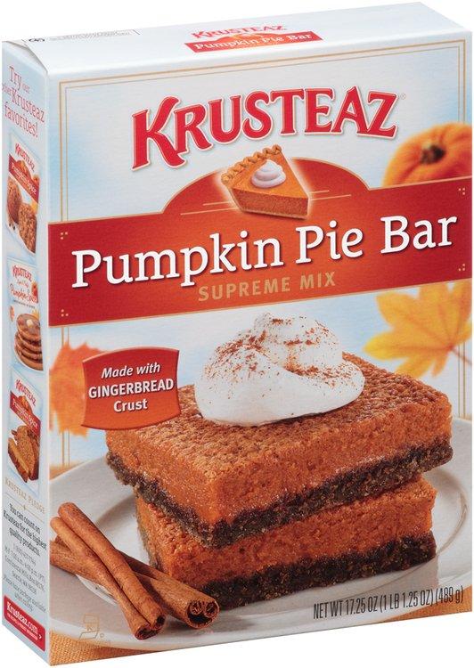 Krusteaz® Pumpkin Pie Bar Supreme Mix 17.25 oz. Box