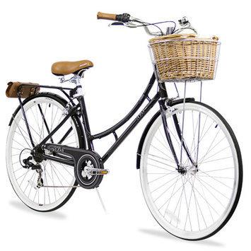 Xds Bikes Co. Women's Nadine 7-Speed Cruiser Bike Color: Black