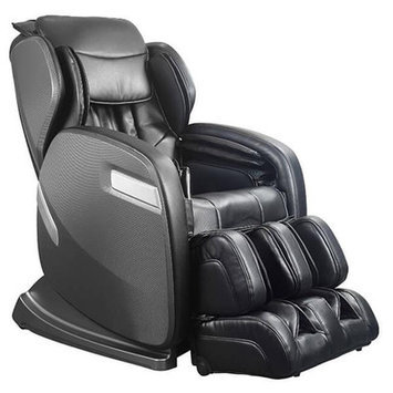 Ogawa Active Supertrac Faux Leather Zero Gravity Reclining Massage Chair Upholstery: Black