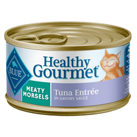 THE BLUE BUFFALO CO. BLUE™ Healthy Gourmet® Meaty Morsels Tuna Entrée For Adult Cats
