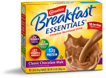 Carnation Breakfast Essentials Chocolate Malt