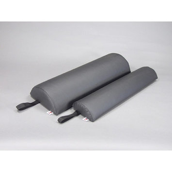Core Products Half Round Bolster - Size: 4.5 x 24 x 9, Color: Black