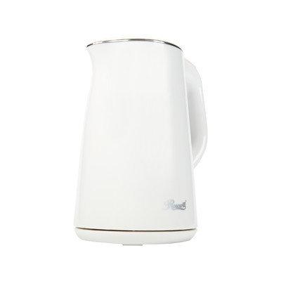 Rosewill RHKT-15001 White 1500-Watt 1.5 L Double Wall Stainless Steel Electric Water Kettle