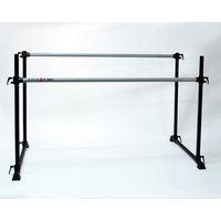 Vitavibe Professional Series Twin Bar Ballet Barre Size: 7 ft.