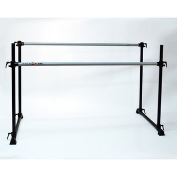 Vitavibe Professional Series Twin Bar Ballet Barre Size: 7 ft.