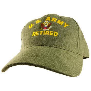 Motorhead Products US Military Logo Retired Cap Branch: Army