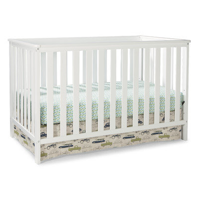 Storkcraft Rosland 3-in-1 Convertible Crib Finish: White