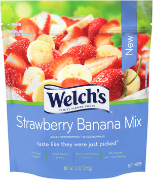 Welch's Strawberry Banana Mix 16 oz. Stand-Up Bag
