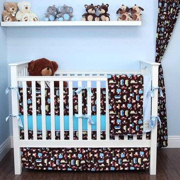 My Blankee Road Trip 6 Piece Crib Bedding Set