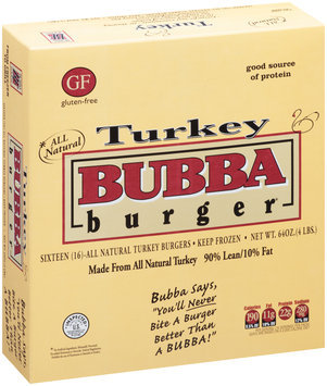 Bubba Burger® Turkey Burgers 16 ct Box