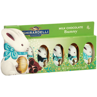 Ghirardelli® Chocolate Milk Chocolate Bunny 1.74 oz. Box