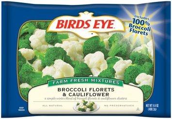 Birds Eye® Broccoli Florets & Cauliflower 14.4 oz. Bag
