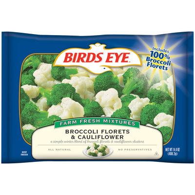 Birds Eye® Broccoli Florets & Cauliflower 14.4 oz. Bag