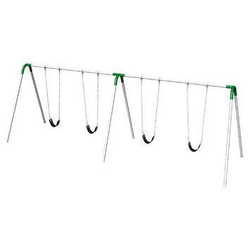 Ultra Play 8 ft. Double Bay Swing Set