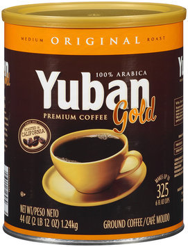 Yuban Gold Original Medium Roast Ground Coffee 44 oz. Canister
