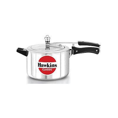 Hawkins Classic New Improved Aluminum Pressure Cooker Size: 5 L