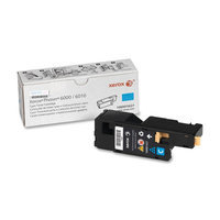 Xerox 106R01627 Toner Cartridge - Cyan - Laser - 1000 Page