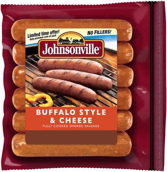 Johnsonville Buffalo Style & Cheese Smoked Sausage 14oz zip pkg (101232)