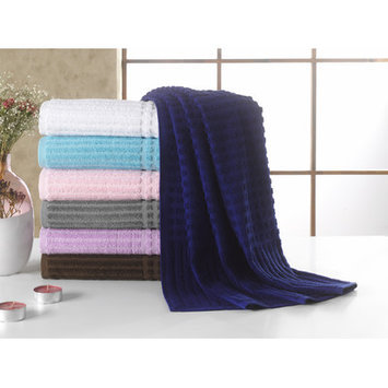 Berrnour Home Piano Bath Towel Color: Midnight Blue