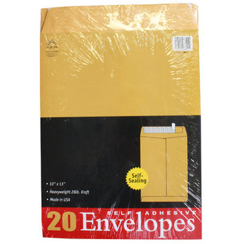 Norcom, Inc Count Kraft Envelopes (Set of 6)