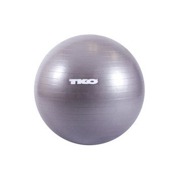 55cm. Fitness Ball from TKO Sports (Includes Workout Chart and Pump)