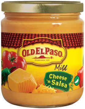 Old El Paso® Mild Cheese 'n Salsa 15 oz. Jar
