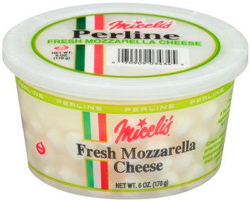 Miceli's® Perline Fresh Mozzarella Cheese 6 oz. Tub