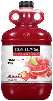 Daily's® Cocktails Non-Alcoholic Strawberry Mix 64 fl. oz. Jug