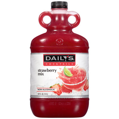 Daily's® Cocktails Non-Alcoholic Strawberry Mix 64 fl. oz. Jug