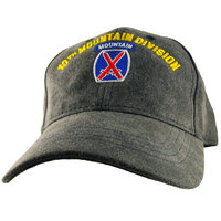Motorhead Products Division Cap Branch: 10th Mountain