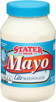 Stater Bros.® Mayo Lite Mayonnaise 30 fl. oz. Jar