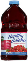 Healthy Balance® Cranberry Raspberry Juice Cocktail 64 fl. oz. Bottle